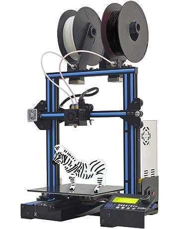 Geeetech A10M Impresora 3d con Mix de color de impresión, Dual de extruder de diseño