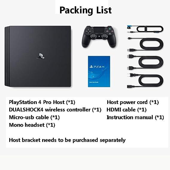 Playstation 4 Pro 1TB Console - Negro (PS4 Pro): Amazon.es: Hogar