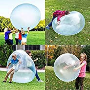 klooy Portable Water Filled Balls, Lightweight Inflatable Water Bubble Ball, Outdoor Beach Pool Party Soft Rub