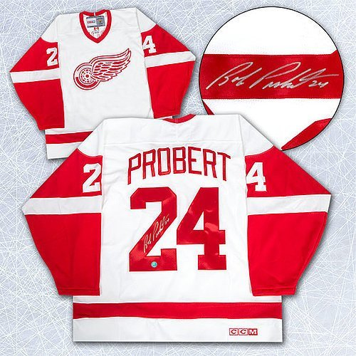Autographed-Bob-Probert-Detroit-Red-Wings-White-Retro-CCM-Hockey-Jersey-Autographed-NHL-Jerseys