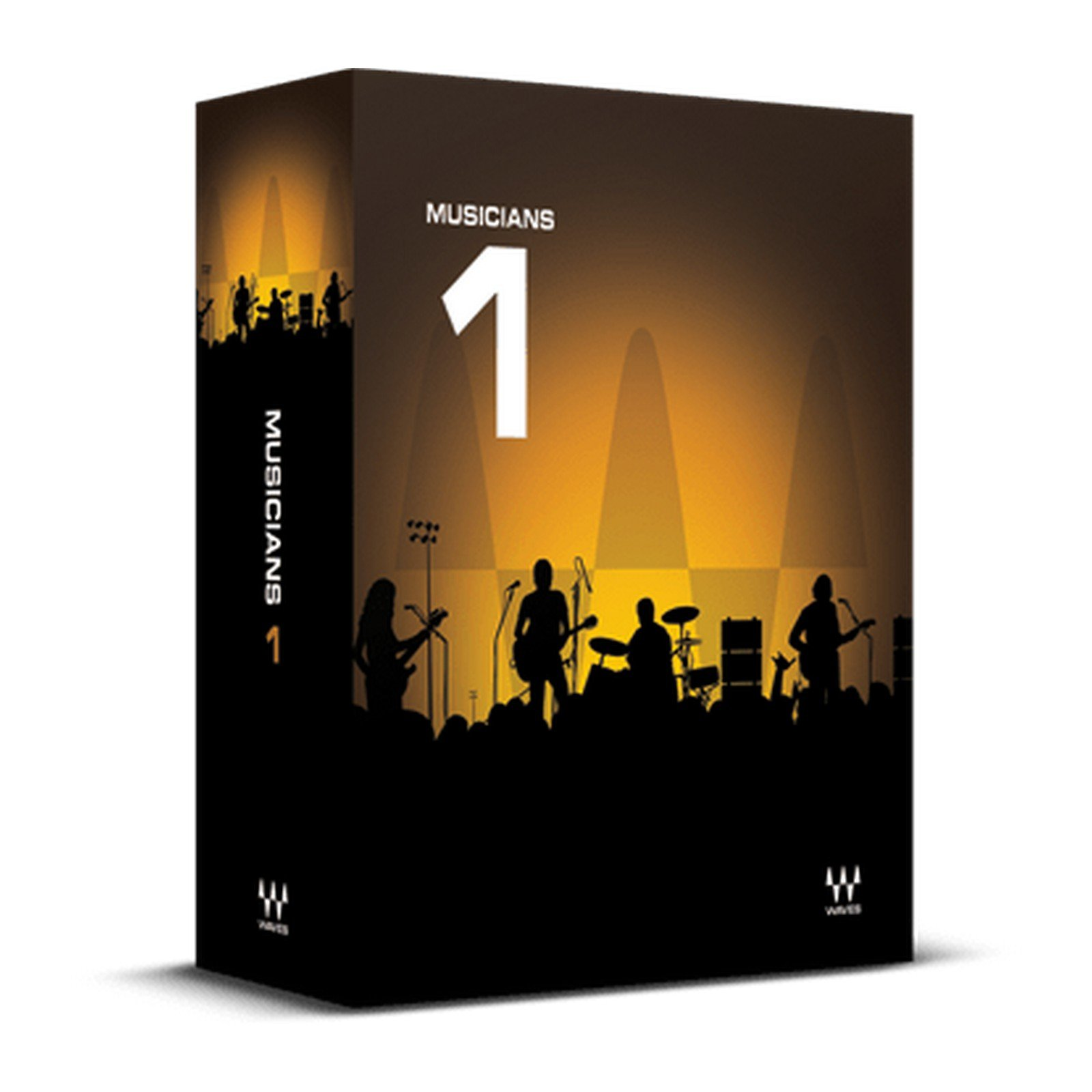 Waves Musicians 1 | 5 Essential Audio Plugin Software Physical Copy