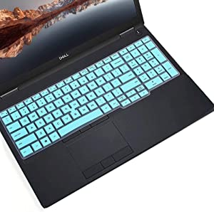CaseBuy Keyboard Cover for Dell Latitude 5000 5500 5501 15.6 inch Notebook, Dell Precision 3540 3541 Laptop(with Point), Dell Latitude 5500 Protective Skin, Mint