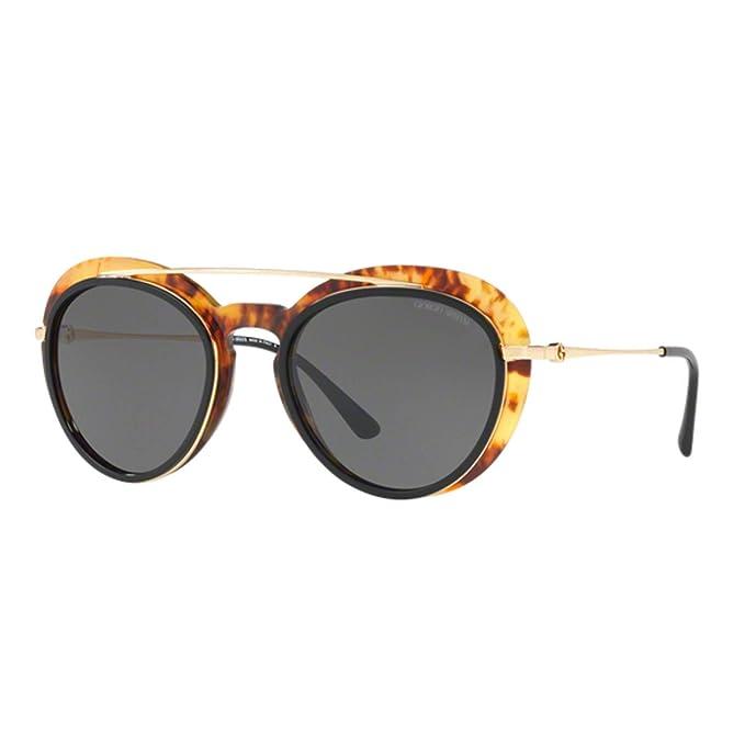 Armani 0AR6055 302187 54, Gafas de Sol para Mujer, Negro ...
