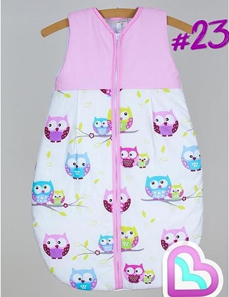 Saco De Dormir Para Bebé 6-18 Meses Sin Mangas - Modelo 23