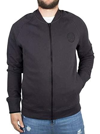 45203b30c Converse Core Plus Faded Logo Bomber Jacket Size S Black at Amazon ...