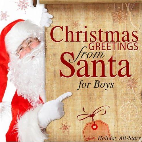 Christmas Greeting from Santa to Brendan