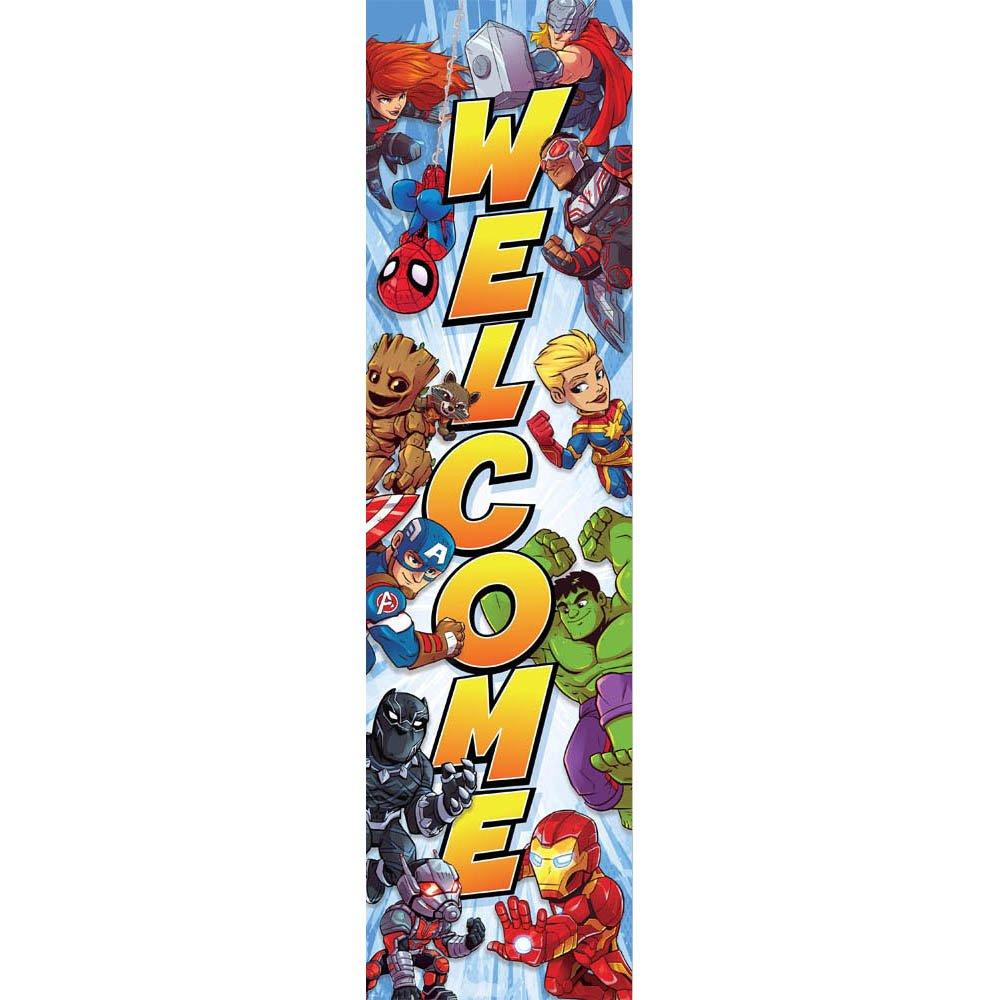 Eureka Marvel Heroes Welcome Back to School Classroom Door Decoration 12'' x 45''