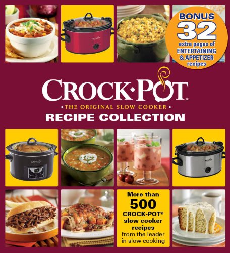 Crock pot recipe collection binder with entertaining and appetizer crock pot recipe collection binder with entertaining and appetizer bonus section editors of publications international 9781450846189 amazon books forumfinder Gallery