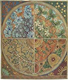 Seasonal Medallion Tapestry With Free Rod by J. Thomas - 51''H x 39''W - Made in America!