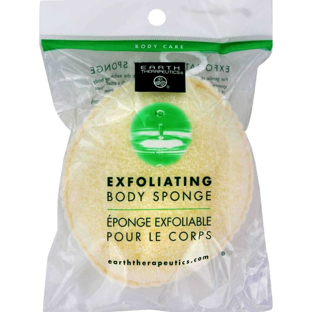 Earth Therapeutics, Exfoliating Body Sponge Sunny Marketing Systems Inc. ET7117