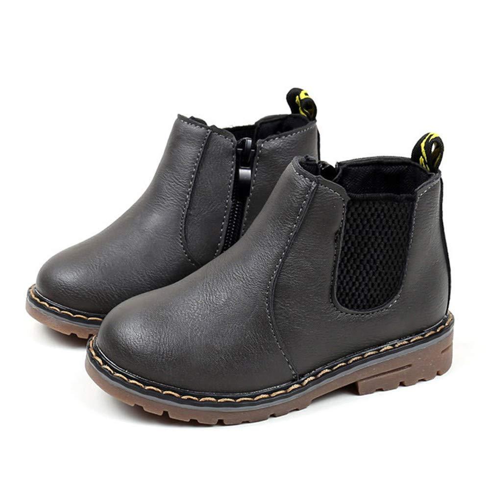 YanHoo Zapatos para niños Moda Infantil Chicos Chicas Zapatillas Botas Niños Bebé Casual Zapatos Botas Antideslizantes Infantiles de Inglaterra Botas: ...