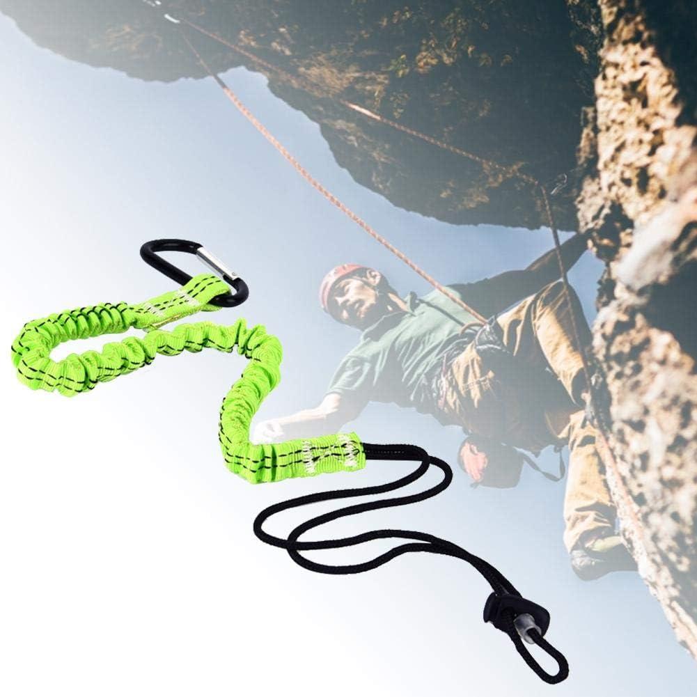Biggystar Gr/ünes Kletterseilwerkzeug Outdoor-Kletterseil Sicherheitsseil Kletterrettungsseil 120 cm