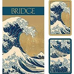 Caspari The Great Wave Large Type Bridge...