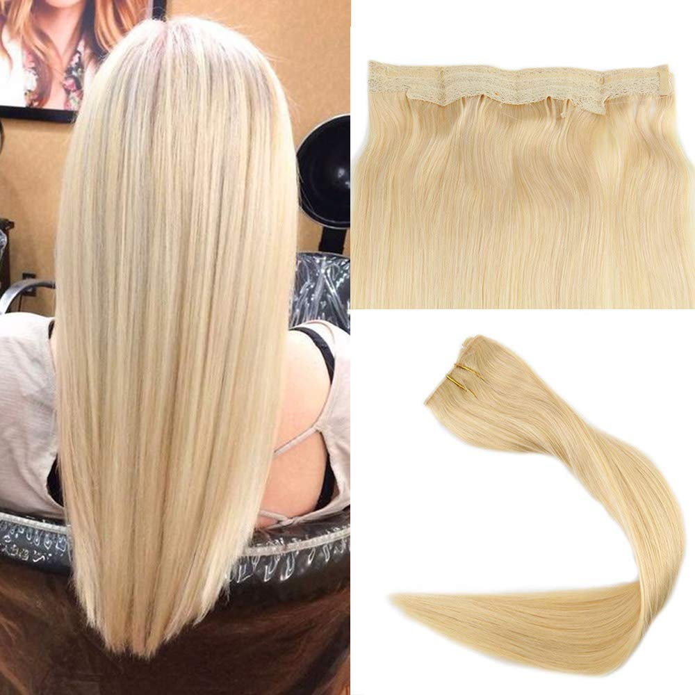 Easyouth Flip On Human Hair Extensions 20