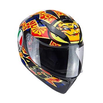 361f0740 AGV K3-SV Mugello 2001 Rossi Mugello Motorcycle Helmet: Amazon.co.uk ...
