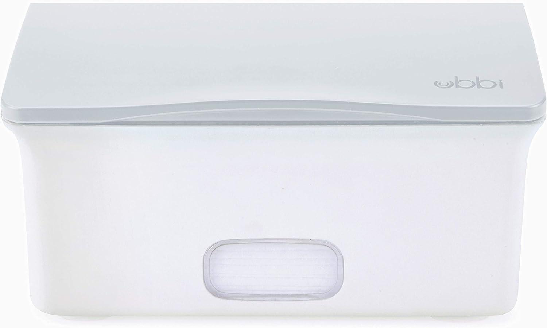 color gris Dispensador de toallitas Ubbi U10142
