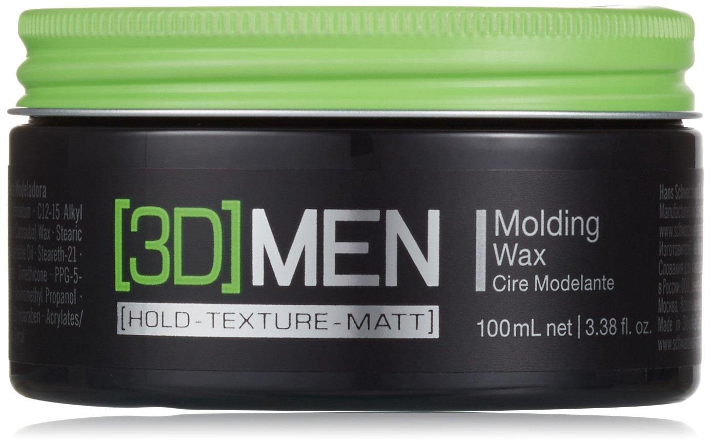 Schwarzkopf 3D Mens Molding Wax 100ml 1853320