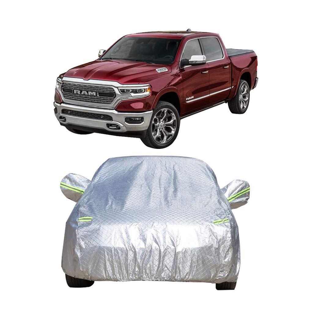 Autoabdeckung Dodge Ram Auto Spezielle Autoabdeckung Pickup Spezielle Dicke Oxford Tuch Sonnenschutz Regen Und Frostschutzmittel Warme Autoabdeckung