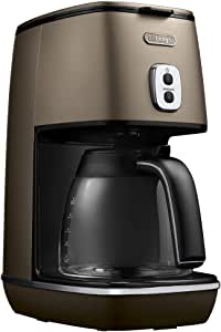 DeLonghi disk Tinta collection drip coffee maker Future bronze ICMI011J-BZ