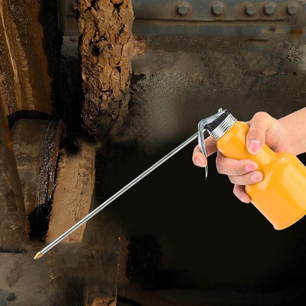 400g El lubricante de alta presi/ón de la bomba de mano del metal del engrasador de la m/áquina de la aleaci/ón de aluminio puede arma con la boca corta//larga