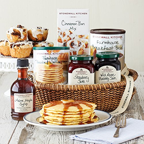 Stonewall Kitchen New England Breakfast Gift (6 Piece Gift Basket) ()