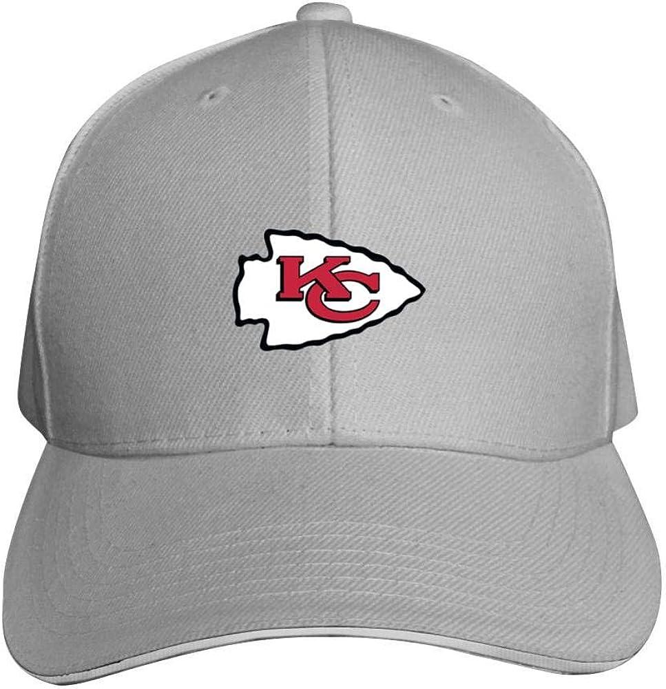 Crazy fish Kansas City Chiefs Hat Neutral Adjustable Truck Driver Cap NFL Cap