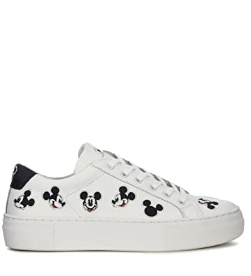 MOA MASTER OF ARTS Moa Mickey Mouse White Leather Sneaker Cheap Pre Order Enjoy Sale Online W6dDR
