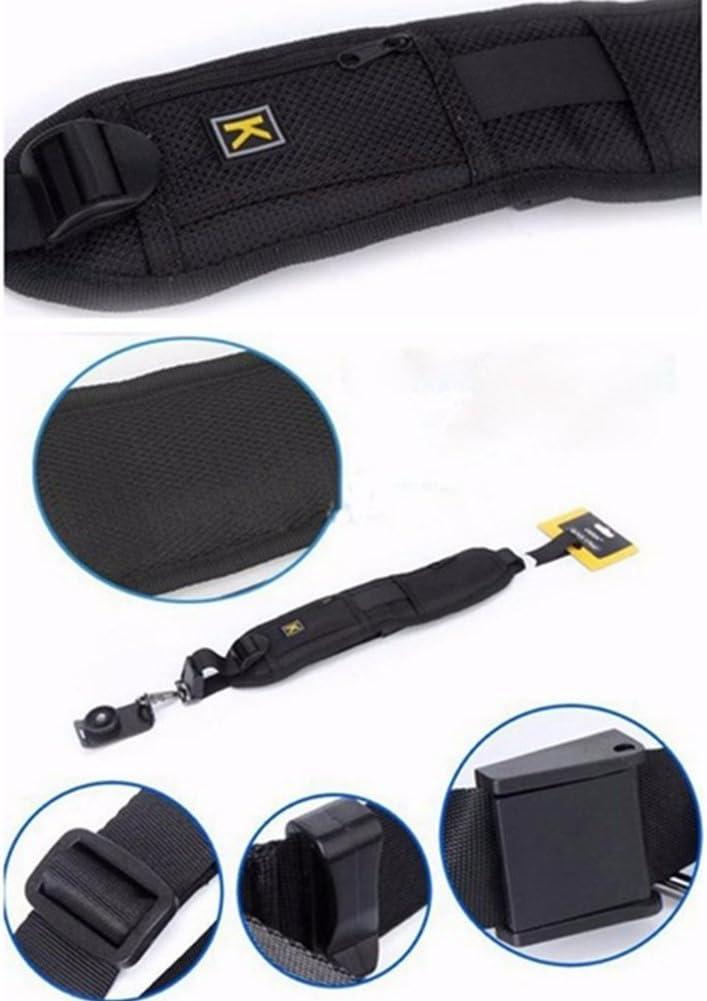 Single Schulter Verstellbarer G/ürtel Gurt f/ür DSLR//SLR Digital Kamera Schnelle Foto von Hand Universal Kamera Gurt Fotografie Dekompression Gurt mit Sicherheit Tether K Buchstabe