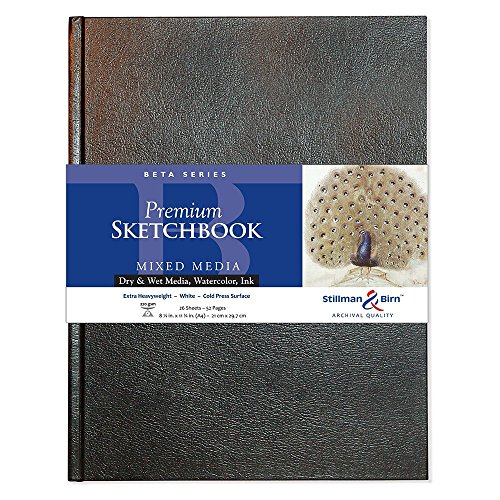 Stillman & Birn Beta Series Hardbound Sketchbook, A4 (8.25