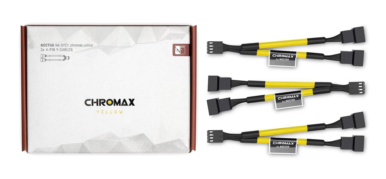 Prolunga a 4 Pin PWM per ventola Bianco Noctua NA-SEC1 chromax.white Confezione da 4 pezzi 30 cm