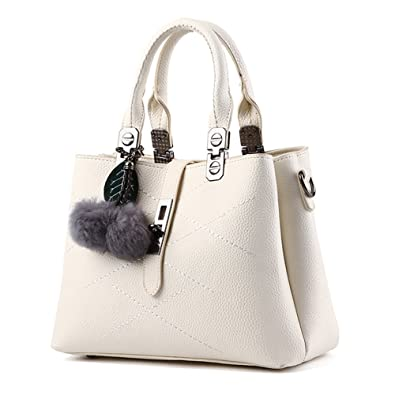 Amazon.com: BAOFASHION Women's Retro Pu Leather Handbag Lady's ...
