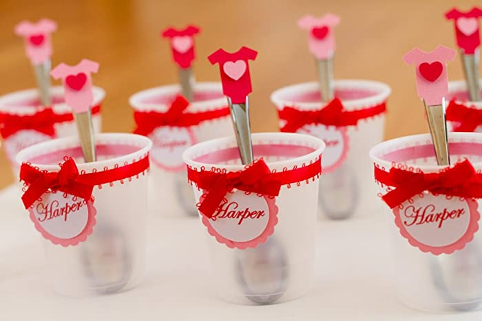 Amazon Com Valentine S Day Baby Shower Personalized Cups And