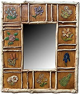 product image for Piazza Pisano Wildflower Rustic Wall Mirror