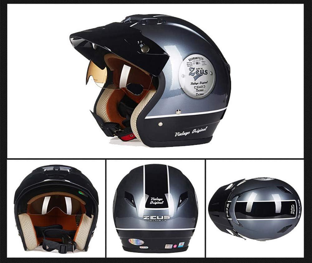 Yyou Abrir la Motocicleta Moto de la Cara Modular Crash Vespa ...