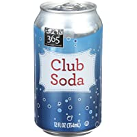 365 Everyday Value, Club Soda, 12 Fl Oz, 6 Count