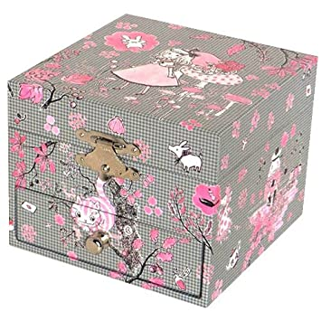 Trousselier Alice In Wonderland Musical Jewellery Box Amazonco