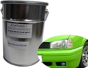Lackpoint 0 5 Liter Spritzfertigen Basislack Kawa Grün Autolack Giftgrün Trend Auto
