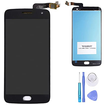 2 Color For Motorola Moto G5 Plus Xt1686 Lcd Display Screen Touch Digitizer Mobile Phone Adapters