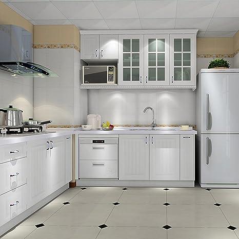 Hot Mueble de Cocina de Primera Calidad Engomada del PVC Auto Rollos de  Papel Pintado Adhesivo para Muebles / Cocina / Baño 0.61 * 5M Pegatinas  Hoja ...