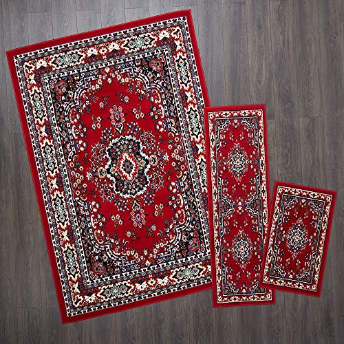 Home Dynamix Ariana Ksara Area Rug 3 Piece Set (4'11