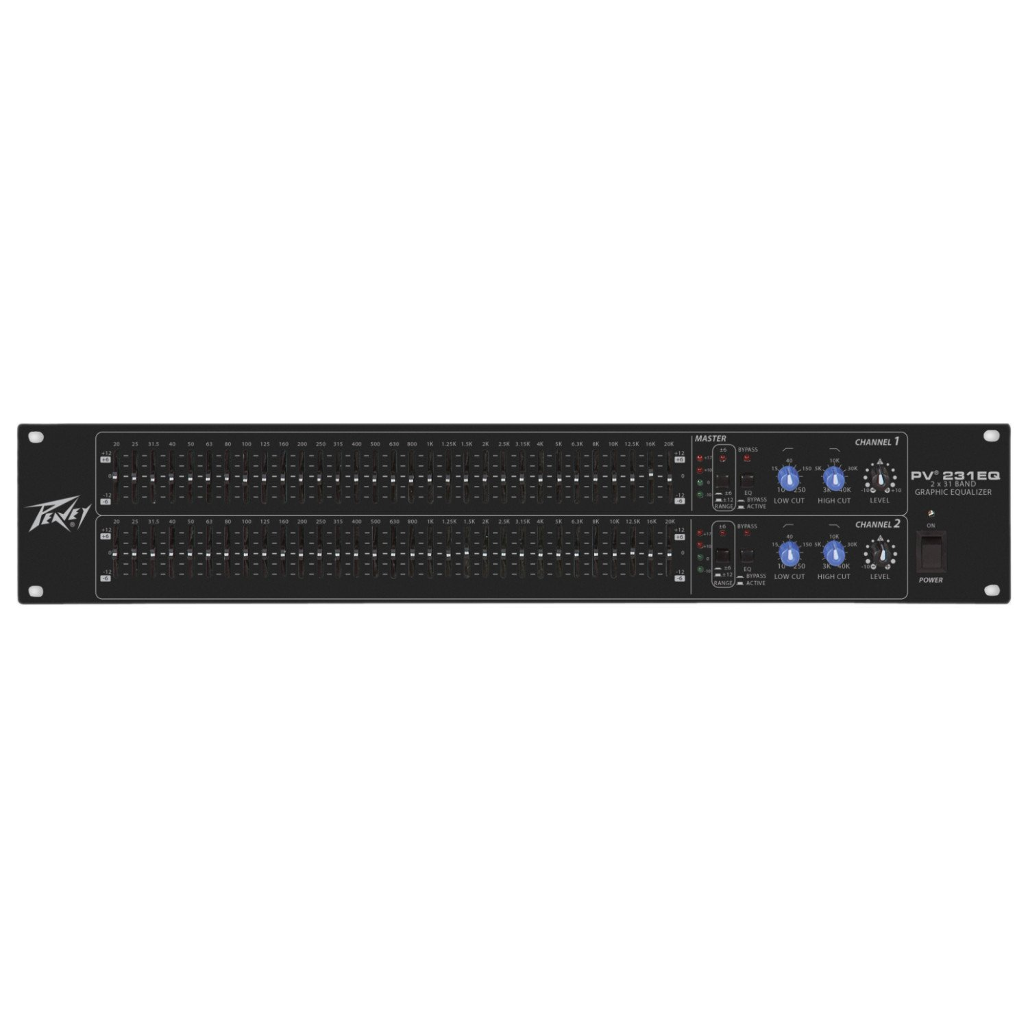 Peavey PV 231EQ Dual 31-Band Graphic EQ (Black)