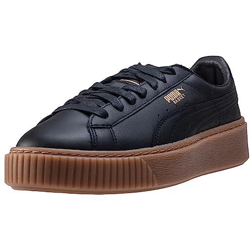 Puma Basket Platform Core, Zapatillas para Mujer, Negro Black, 42 EU: Amazon.es: Zapatos y complementos