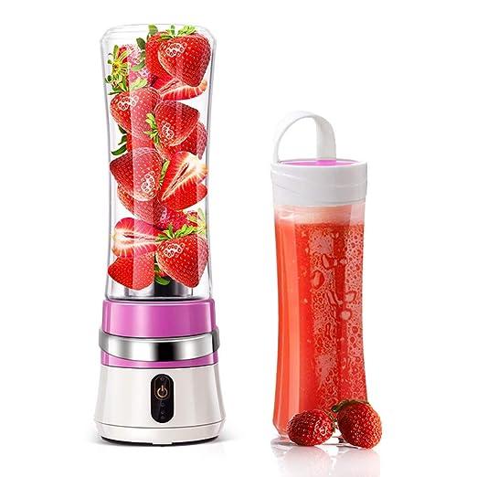 Licuadora portátil, taza Juicer USB, máquina mezcladora de frutas ...