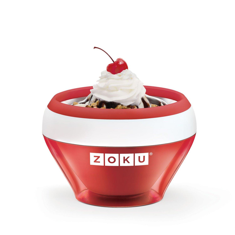 Zoku - ICE CREAM MAKER per Gelati e Sorbetti ROSSO ZK120-RD