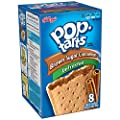 Pop-Tarts, (Not Frosted) Brown Sugar Cinnamon, 8-Count Tarts, 14 oz Packages (Pack of 12) by Pop-Tarts