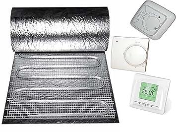 Laminat fußbodenheizung  Elektro-Fußbodenheizung speziell für Parkett + Laminat, 150Watt ...