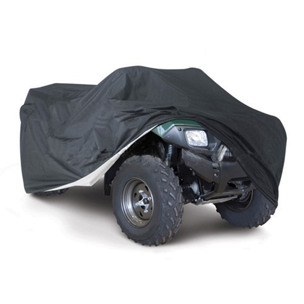 All Weather Protection ATV Cover, Durable Waterproof Wind-proof Dustproof Heatproof UV Protection Buggy Storage, Universal Fit for ATV - 5 Size Options Qiyun