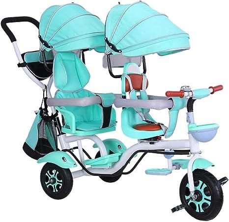 trike Tricycles Tricycles para niños de 1 a 5 años de Edad, Ciclo para niños de 3 a 5 años, Bicicleta de Patrulla Canina de 2 a 5 años, Verde: Amazon.es: Deportes y ...
