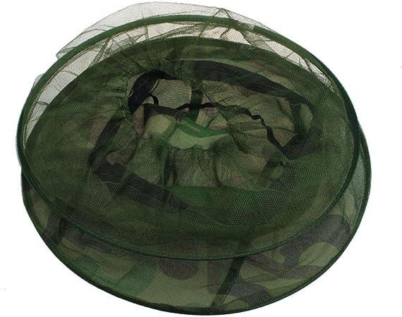 Mücke Widerstand Netz Sonne Imkerhut Imker Hut 32 cm x 25 cm Tarnung 2St