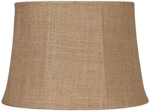 Drum Lamp Shade 13x16x11 (Spider) (Natural Lamp Shades)